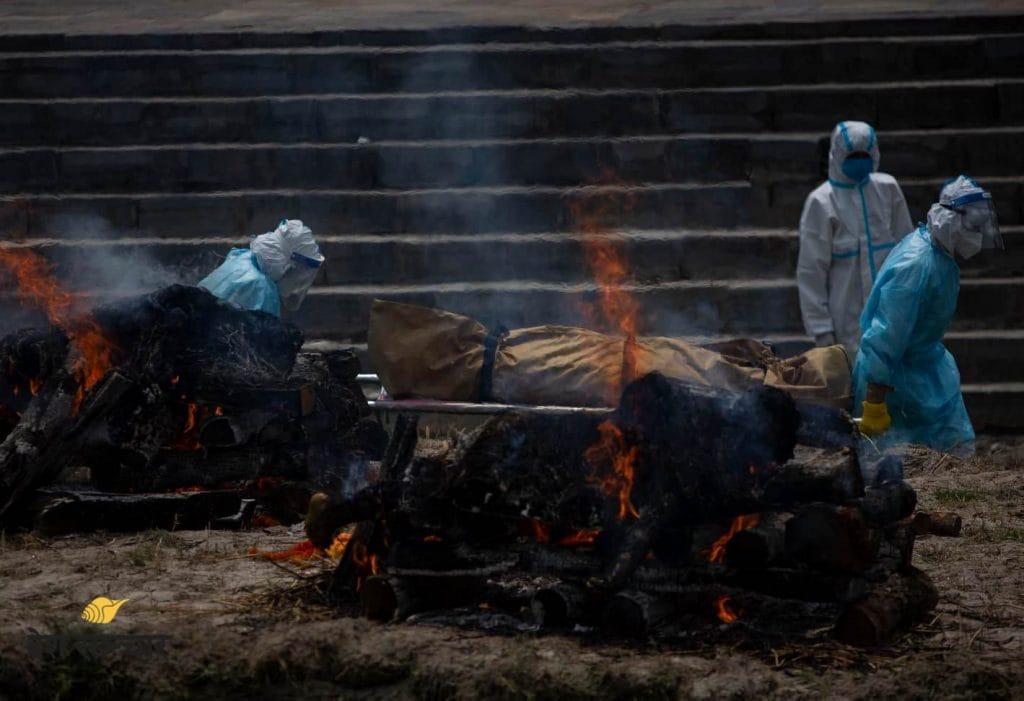 Dead body_covid victim_cremated_pashupatinath